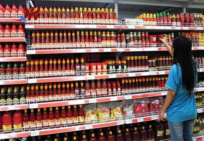 Bạn có thể tìm thấy các loại nước sốt trong siêu thị