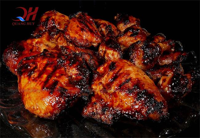 Thịt nướng có thể bị cháy nếu như bạn nướng với nhiệt độ không phù hợp