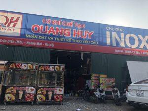 Những sản phẩm này đều được chụp tại xưởng của Quang Huy