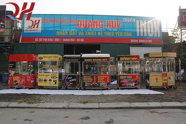 Tại Quang Huy có rất nhiều mẫu xe bánh mì doner kebab khác nhau