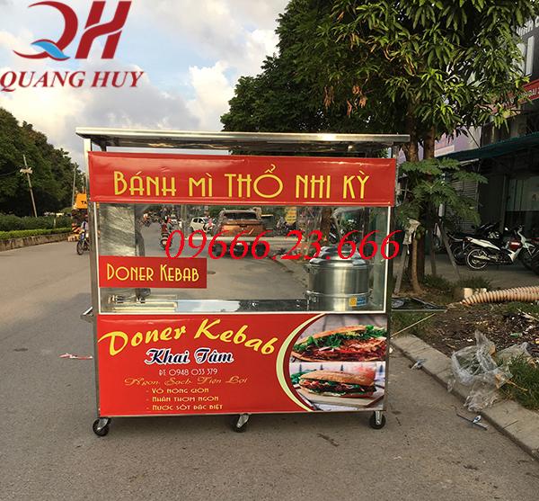 Xe bán xôi bán bánh mì thổ nhĩ kỳ 2m mới nhất năm 2020 của Quang Huy
