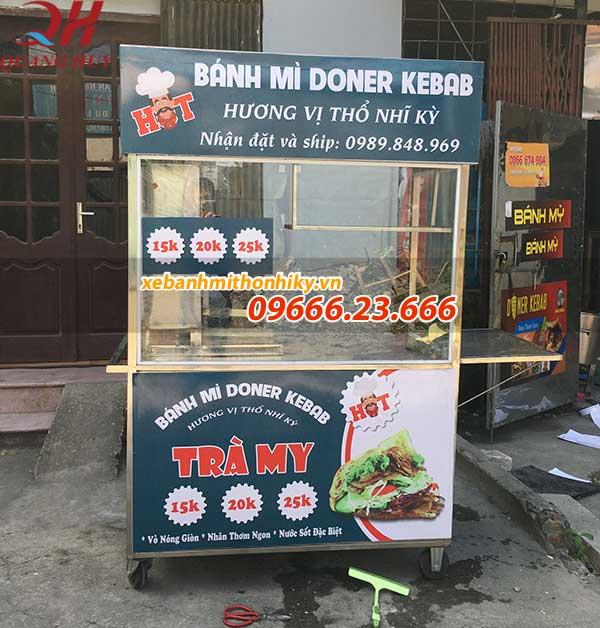Xe bánh mì thổ nhĩ kỳ 1m5 do Quang Huy sản xuất và phân phối