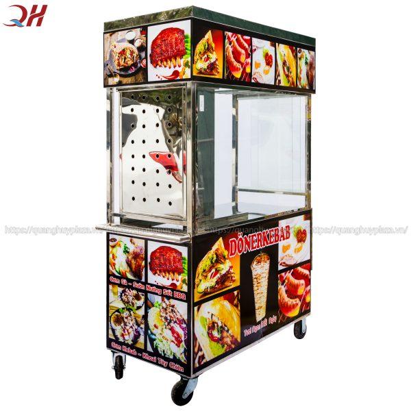 Xe bánh mì thổ nhĩ kỳ Quang Huy luôn mang tính thẩm mỹ cao