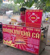 Xe Bánh Mì Chả Cá 1m