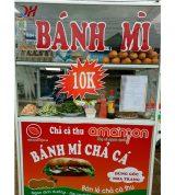 Xe Bánh Mì Chả Cá 1m2