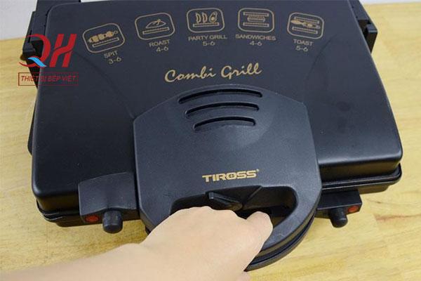 Thiết kế nhỏ gọn của chiếc máy ép bánh mì
