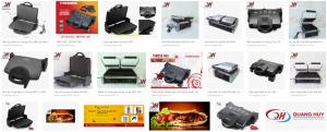 Quang Huy phân phối nhiều mẫu máy kẹp bánh mỳ chính hãng