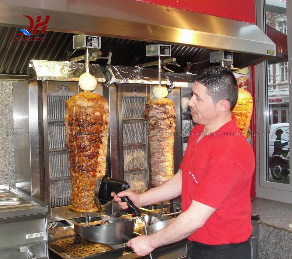 Nên nướng thịt đúng với kích cỡ đặt ra
