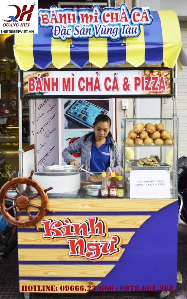 Mách bạn mua xe bánh mì chả cá chính hãng tại Đồng Nai 1