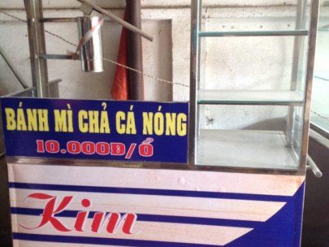 Mách bạn mua xe bánh mì chả cá tại đồng nai