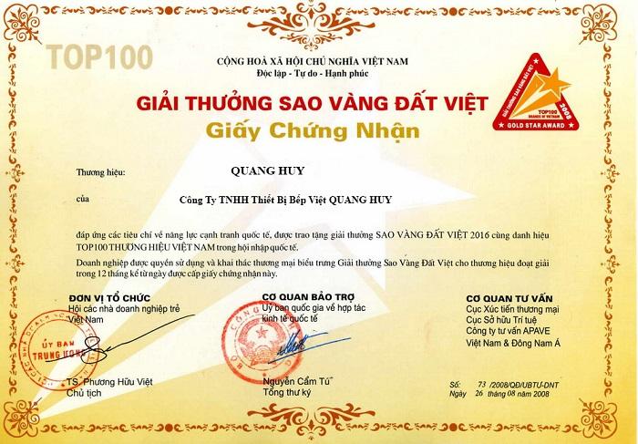 Quang Huy là cơ sở hàng đầu để bạn lựa chọn
