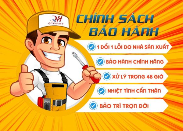 Chính sách bảo hành của Quang Huy