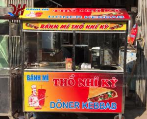 Địa chỉ bán xe bánh mì chính hãng tại Hà Nội