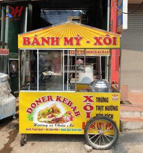Địa chỉ bán xe bánh mì chính hãng tại Hà Nội 2