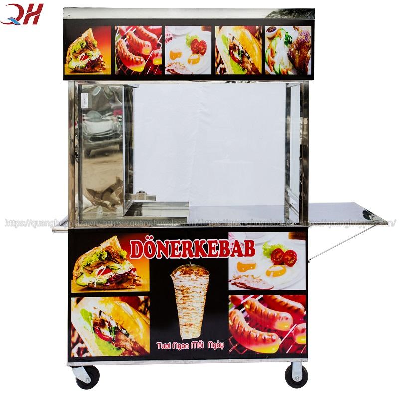 Quang Huy nơi bán xe bánh mì Thổ Nhĩ Kỳ Doner Kebab