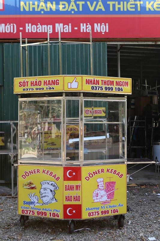 Xe bánh mì Lục Lăng tại địa chỉ bán xe bánh mì Thổ Nhĩ Kỳ Quang Huy