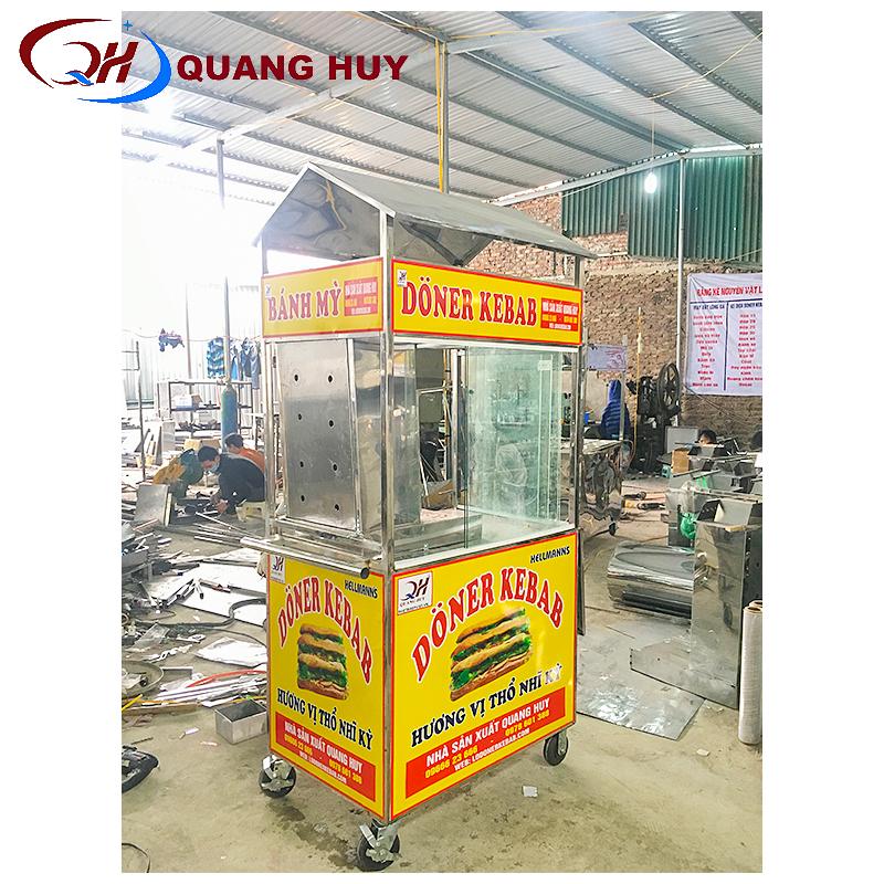 Xe bánh mì Thổ Nhĩ Kỳ mini tại xưởng chế tạo Quang Huy