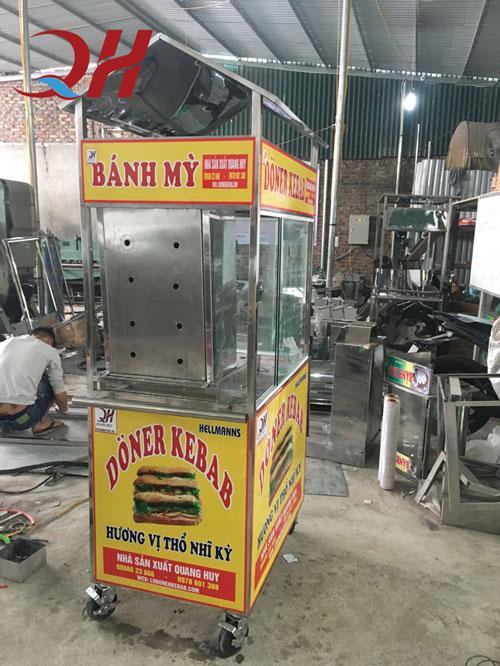 Địa chỉ mua xe bánh mì chính hãng tại Quảng Ninh
