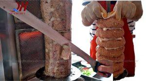 Máy cắt thịt bánh mì Doner có những ưu điểm gì ?