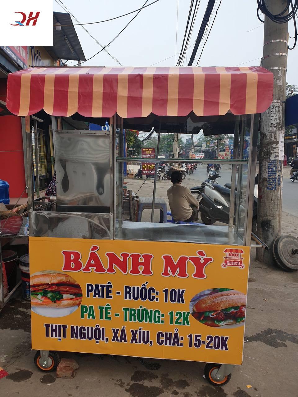Xe bánh mì Pate giá rẻ 2
