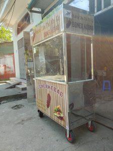 Địa chỉ bán xe bánh mì Doner kebab 4