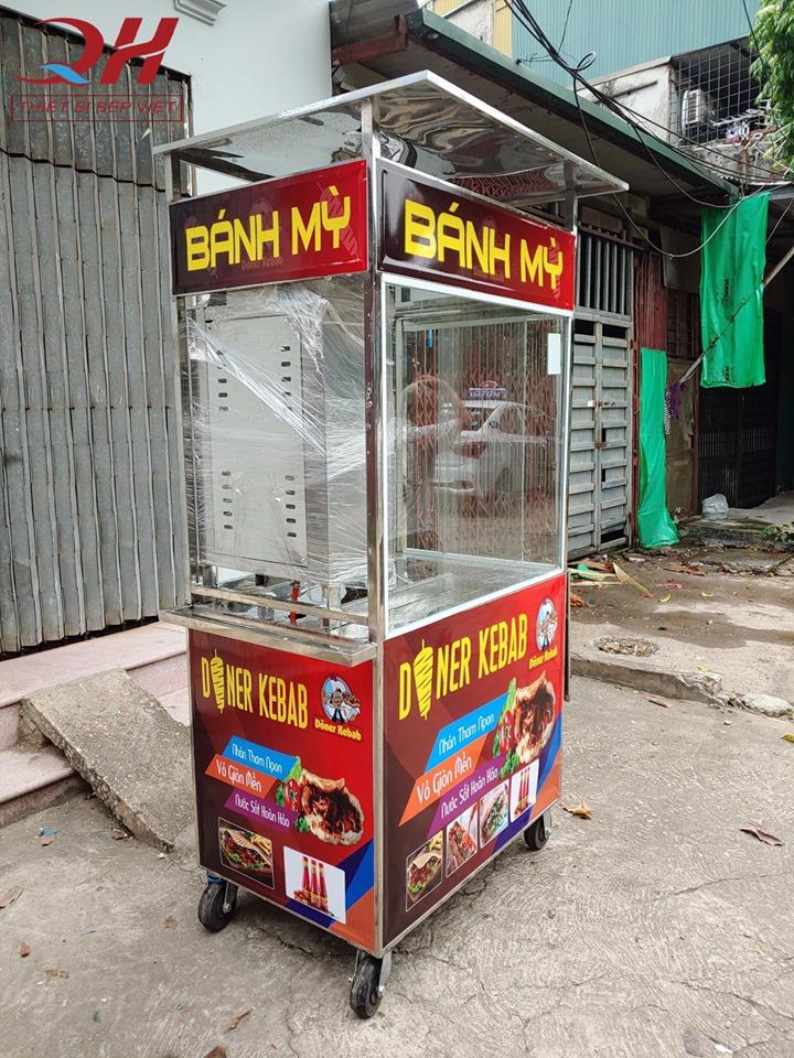 Xe bánh mì thổ nhĩ kỳ 1m giá rẻ của Quang Huy