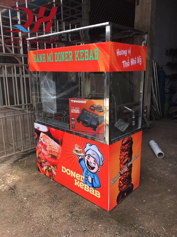 Địa chỉ bán xe bánh mì Doner kebab 5