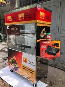 Địa chỉ bán xe bánh mì Doner kebab 7