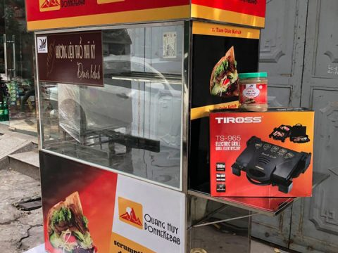 Địa chỉ bán xe bánh mì Doner kebab