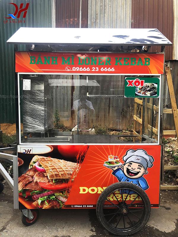 Xe bánh mì thổ nhĩ kỳ (Doner Kebab) của Quang Huy