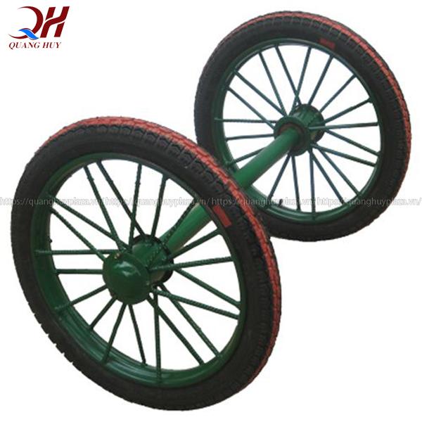 Sản phẩm được bố trí bánh xe bò to và chắc chắn thuận tiện cho quá trình di chuyển