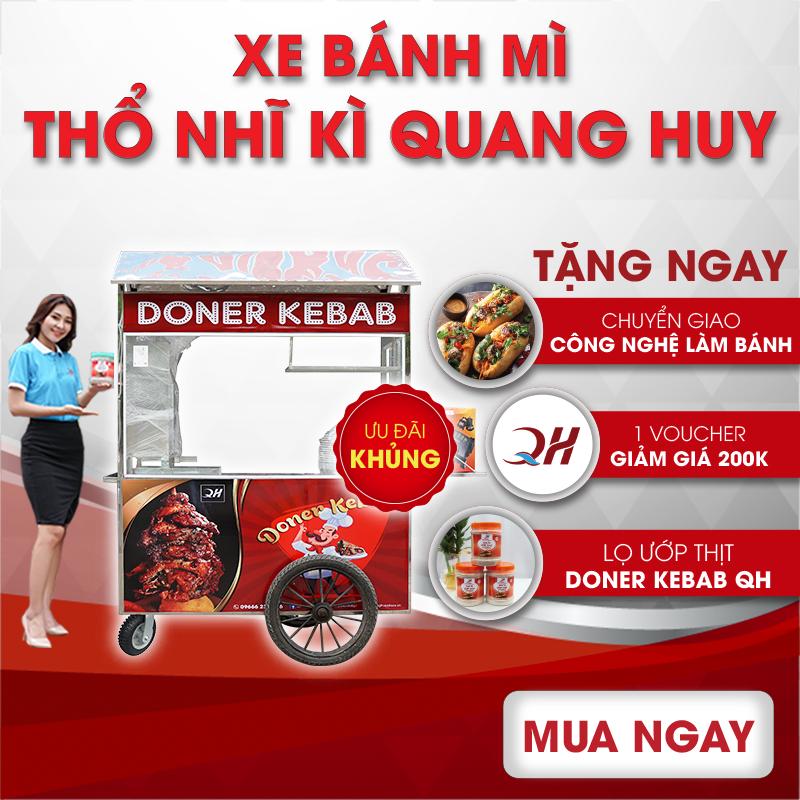 Những ưu đãi khi mua xe bánh mì tại Quang Huy Plaza