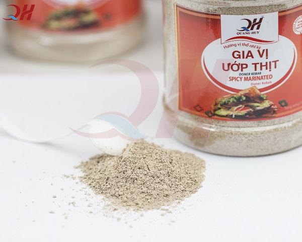 Gia vị ướp thịt Doner Kebab Quang Huy