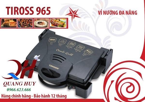 Máy ép bánh mì Toross 965