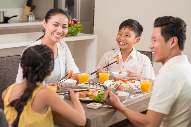 Bữa sáng đơn giản - tình cảm gia đình gắn bó