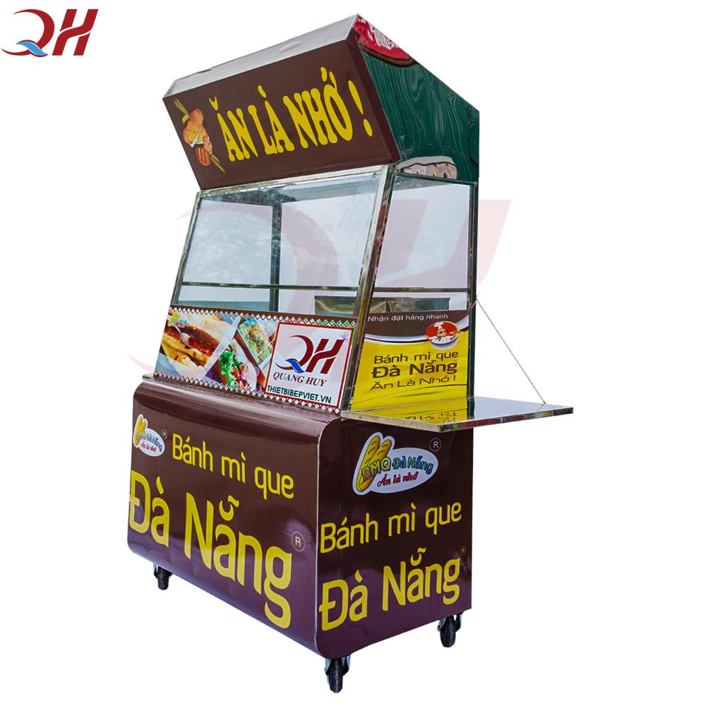 Xe bánh mì que Quang Huy 1m