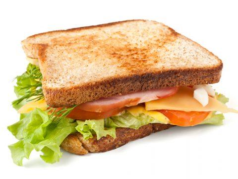 Ăn bánh mì sandwich có béo không?