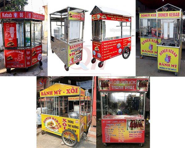 Một số mẫu xe bán hàng rong tại Quang Huy