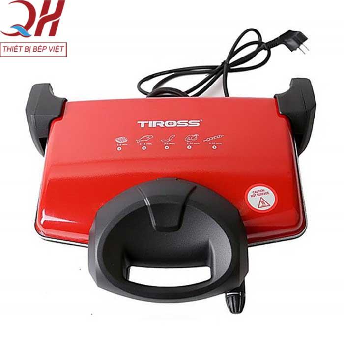 Hình ảnh máy kẹp bánh mỳ Tiross 9653 màu cam