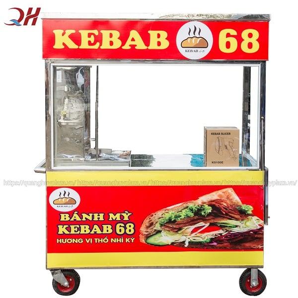 Xe bánh mì thổ nhĩ kỳ (Doner Kebab)
