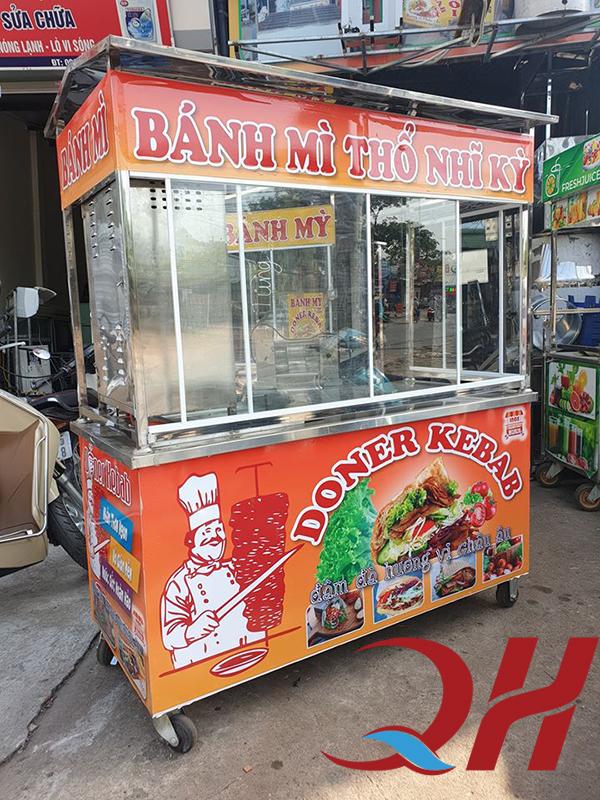 Xe bánh mì Doner Kebab Quang Huy
