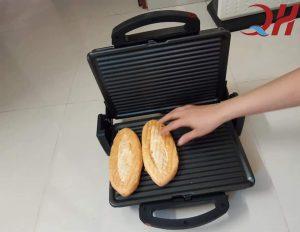 Sử dụng máy ép bánh mì cho hiệu quả nhanh chỉ sau 2 phút