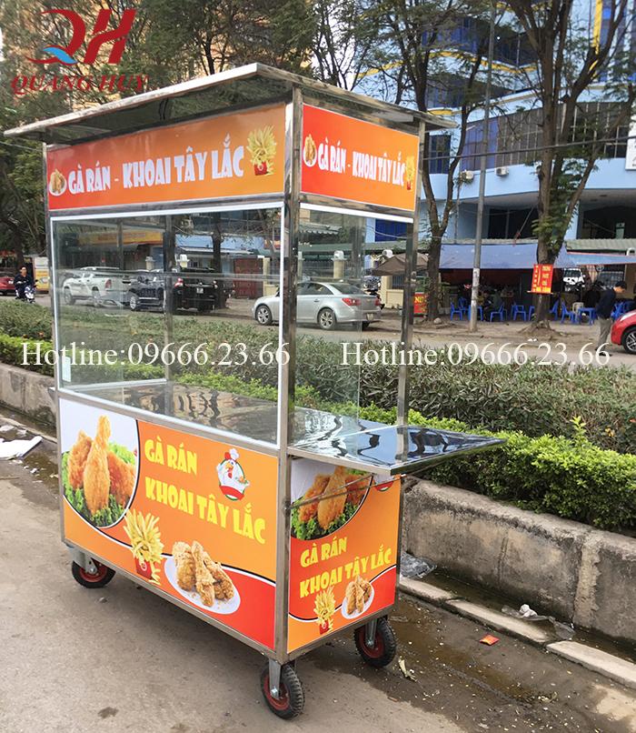 Xe bán gà rán - khay tây chiên 1m5, xe gà rán, mẫu xe bán gà rán, xe gà rán kfc, xe bán gà rán, xe bán gà rán cũ, xe ga ran, quầy bán gà rán