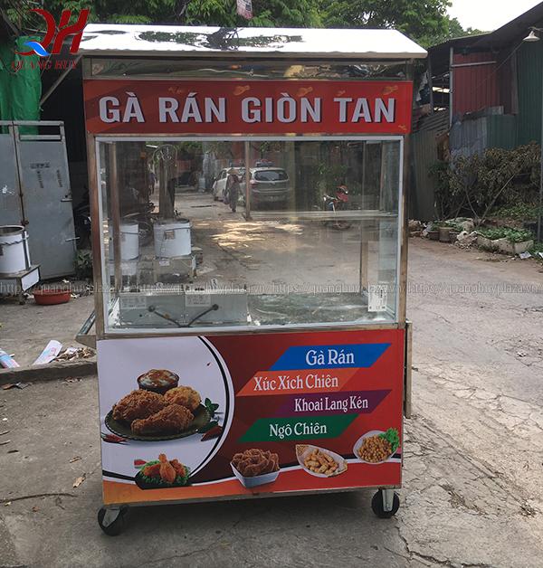 Xe bán gà rán được sản xuất bởi Quang Huy