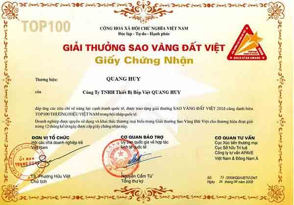 Quang Huy là 1 thương hiệu uy tín nhiều năm trong nghề