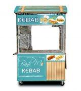 Xe Bánh Mì Doner Kebab Mái Vòm 1m8 Mẫu Mới