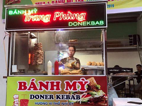Thiết kế xe bánh mì Doner Kebab theo yêu cầu uy tín giá rẻ