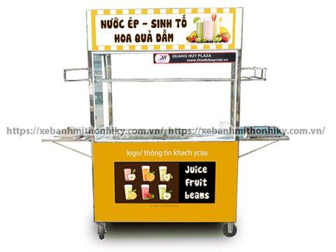 Mua tủ bán nước ép trái cây giá rẻ, bền đẹp tại Quang Huy