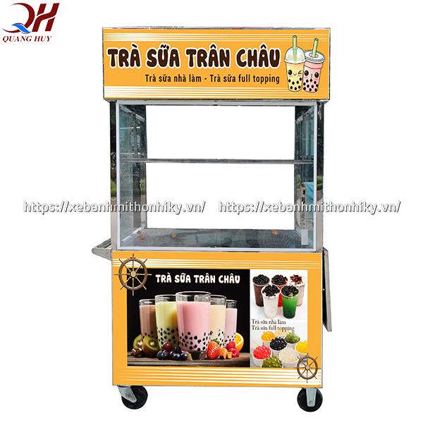 Xe bán trà sữa được sản xuất và phân phối bởi Quang Huy