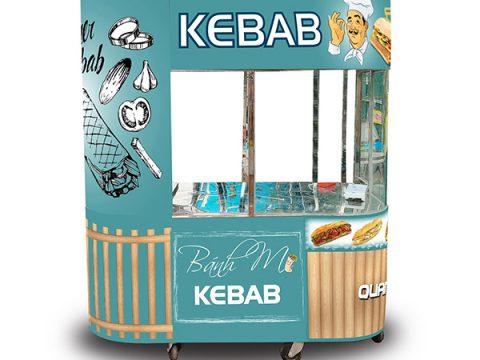 Trọn bộ xe bánh mì kebab kèm lò nướng giá rẻ!